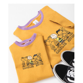 image of 查理‧布朗童裝親子系列人物大集合洋裝 Charlie Brown Children's Wear Parent-Child Series Of Characters Large Collection Dress