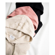 image of 素面造型寬袖連帽上衣 三色售 Plain-Faced Wide-Sleeved Hooded Top Three-Colors