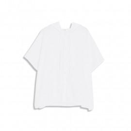 image of 連帽抽繩棉麻襯衫 Hooded Drawstring Cotton Shirt