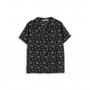 image of 滿版碎花雪紡襯衫 Full-Length Floral Chiffon Shirt