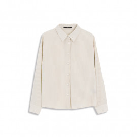 image of 直條細紋襯衫 Straight Stripe Shirt