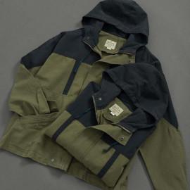 image of 撞色拼接工裝拉鍊外套 Contrast Stitching Tool Zipper Jacket