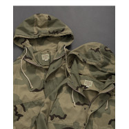 image of 迷彩高領連帽外套 Camouflage High Collar Hooded Jacket