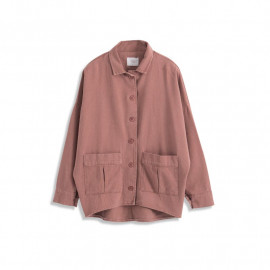 image of 雙口袋造型前短後長外套 三色售 Double Pocket Shape Short Front Long Coat Three Colors