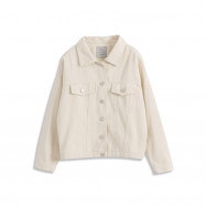 image of 基本百搭休閒素色長袖外套 两色售 Basic Wild Casual Plain Long-Sleeved Jacket Two Colors