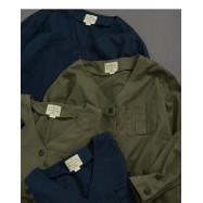 image of 素面造型口袋外套 兩色售 Plain Face Pocket Coat Two Colors