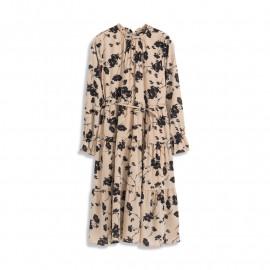 image of 滿版大花造型雪紡洋裝 Full Version Of Large Flower Shape Chiffon Dress