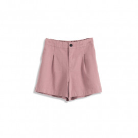 image of 基本百搭素色前打摺短褲 Basic Versatile Plain Front Shorts