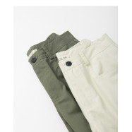 image of 小蓋口袋造型五分短褲 兩色售  Small Cover Pocket Shape Five Points Shorts Two Colors