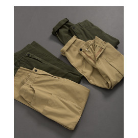 image of 親子系列造型立體口袋長褲 兩色售 Parent-Child Series Modeling Three-Dimensional Pocket Trousers Two Colors