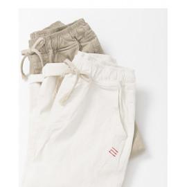 image of 側剪接車線設計休閒褲 兩色售 Side Cut Line Design Casual Pants Two Colors