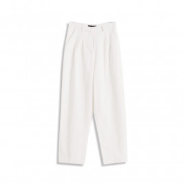 image of 純色打折造型長褲 Solid Color Discount Trousers