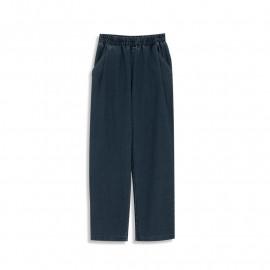 image of 鬆緊腰九分彈性牛仔褲 Tight Waist Nine Point Denim Jeans