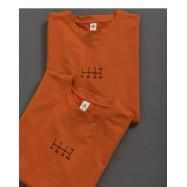 image of 趣味量尺印花短袖棉T Fun Ruler Printed Short-Sleeved Cotton T