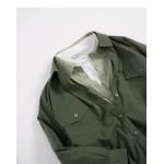 基本素色雙口袋造型長袖襯衫 三色售 Basic Plain Double Pocket Style Long Sleeve Shirt Three-Colors