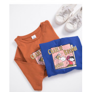 image of 查理‧布朗 露西普普風T恤 兩色售 Charlie Brown Lucy Pupp T-Shirt Two-Color