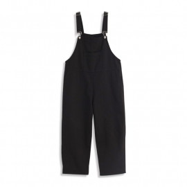 image of 休閒素色吊帶長褲 Casual plain Suspender Trousers