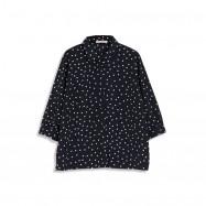 image of 滿版點點雪紡襯衫 Full Version Of A Little Chiffon Shirt