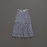 image of 童裝 親子系列變形蟲印花背心洋裝 Children's Wear Parent-Child Series Amoeba Printed Vest Dress