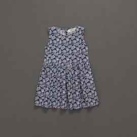 image of 童裝 親子系列變形蟲印花背心洋裝 Children's Wear Parent-Child Series Amoeba Printed Vest Dress