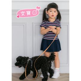 image of 小童裝。彩條下接裙洋裝-女童款
