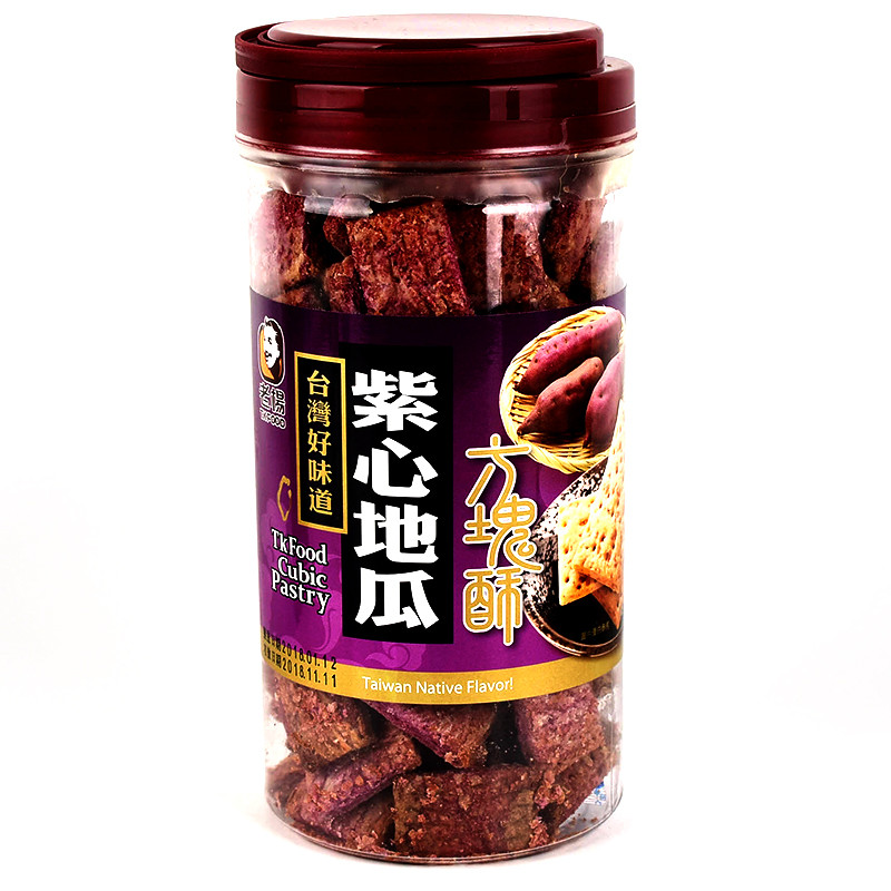 image of 老楊紫心地瓜方塊酥