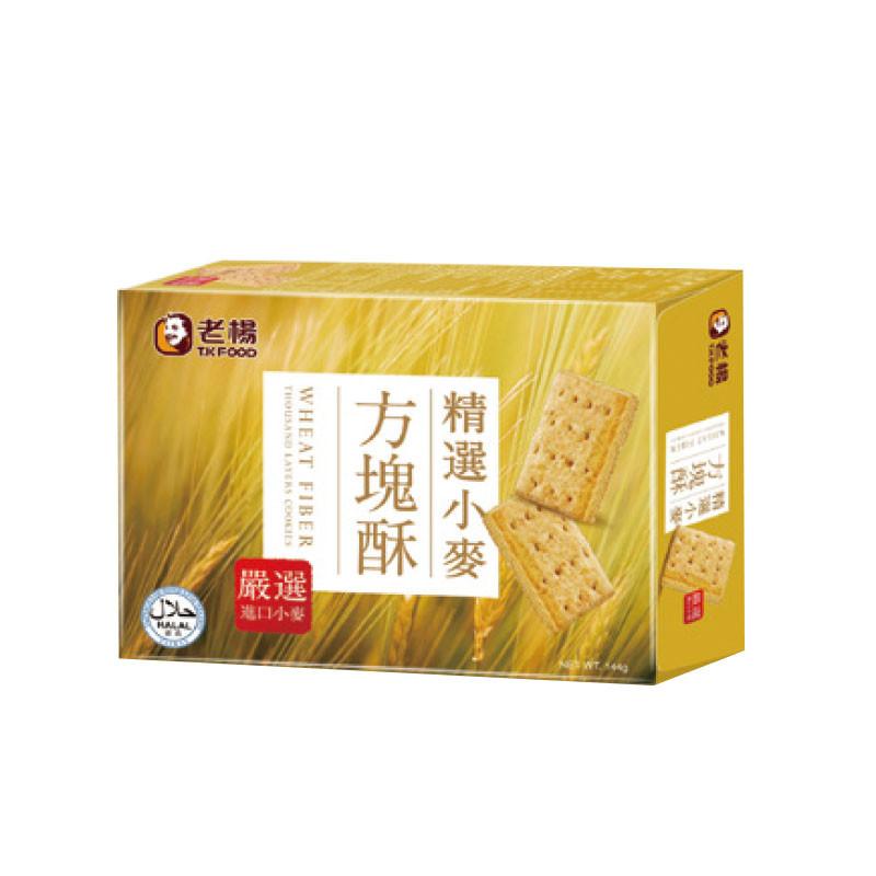 image of 老楊麥纖方塊酥