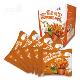 image of 【方盒】紅蘿蔔脆條 5包/盒