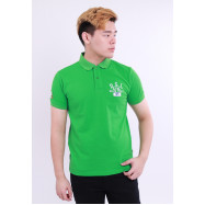 image of Diesel Men Embroidery Polo Tee - Green