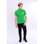 Diesel Men Embroidery Polo Tee - Green