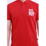 Diesel Men Embroidery Polo Tee - Maroon