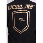 Diesel Men Graphic Round Neck Tee - Dark Grey