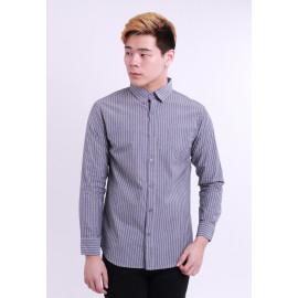 image of Diesel Men Woven Shirt Long Sleeve - Grey