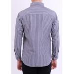 Diesel Men Woven Shirt Long Sleeve - Grey