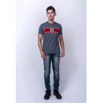 Diesel Men Graphic Tee S/S – Dark Melange