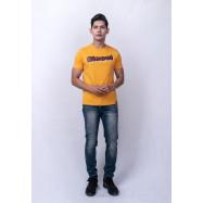 image of Diesel Men Graphic Tee S/S - Mustard