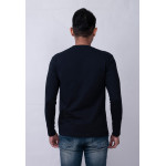Diesel Men Graphic Tee L/S - Black