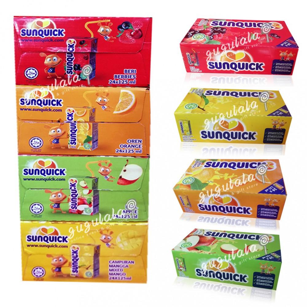 Sunquick Drinks 125ml X 24