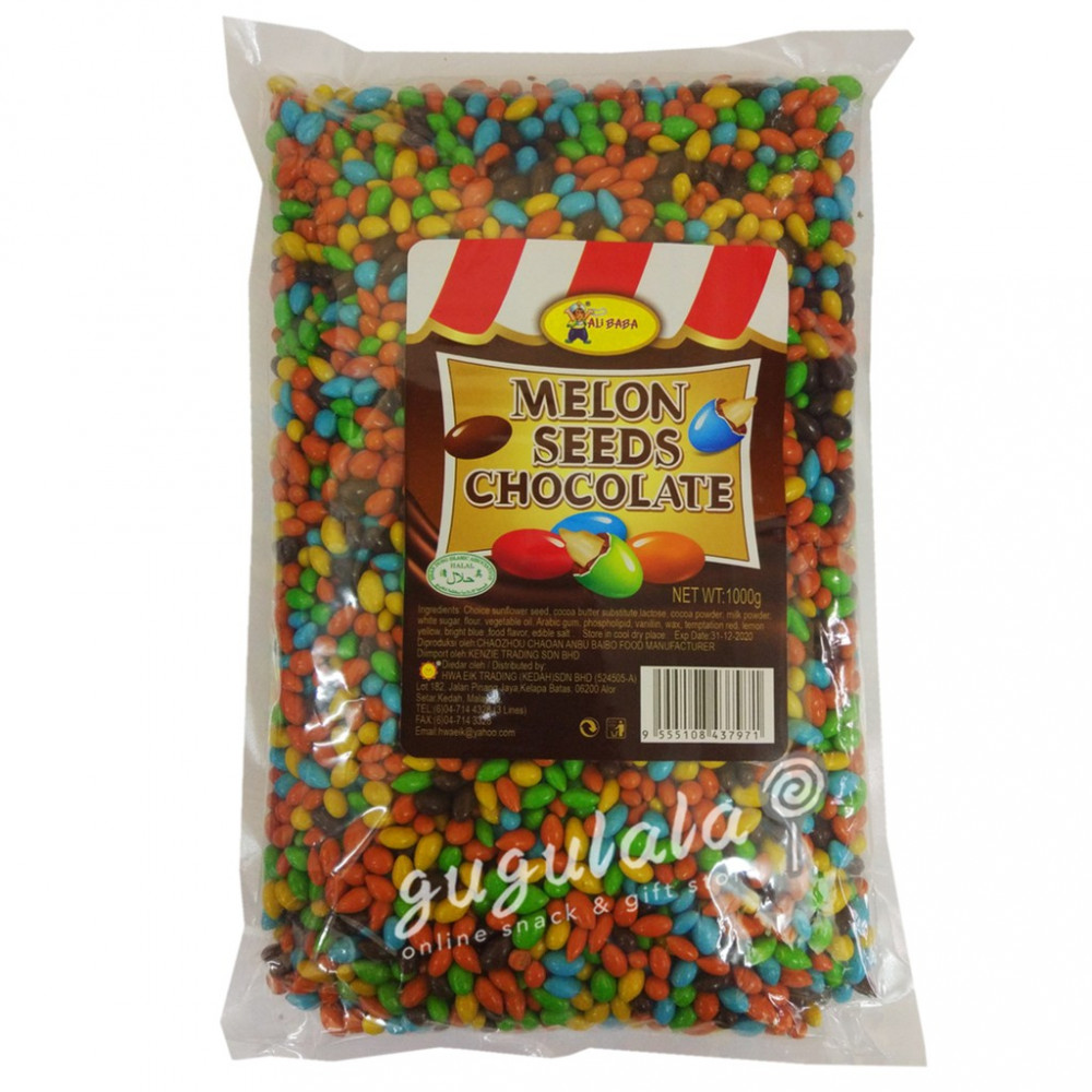 *Coklat Kuaci* Melon Seeds Chocolate 1kg