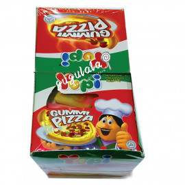 image of Yupi Gummy Pizza 12'S X 15g