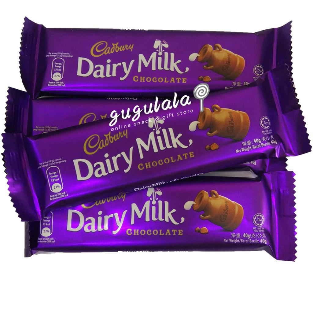image of Cadbury Dairy Milk Chocolate 40g