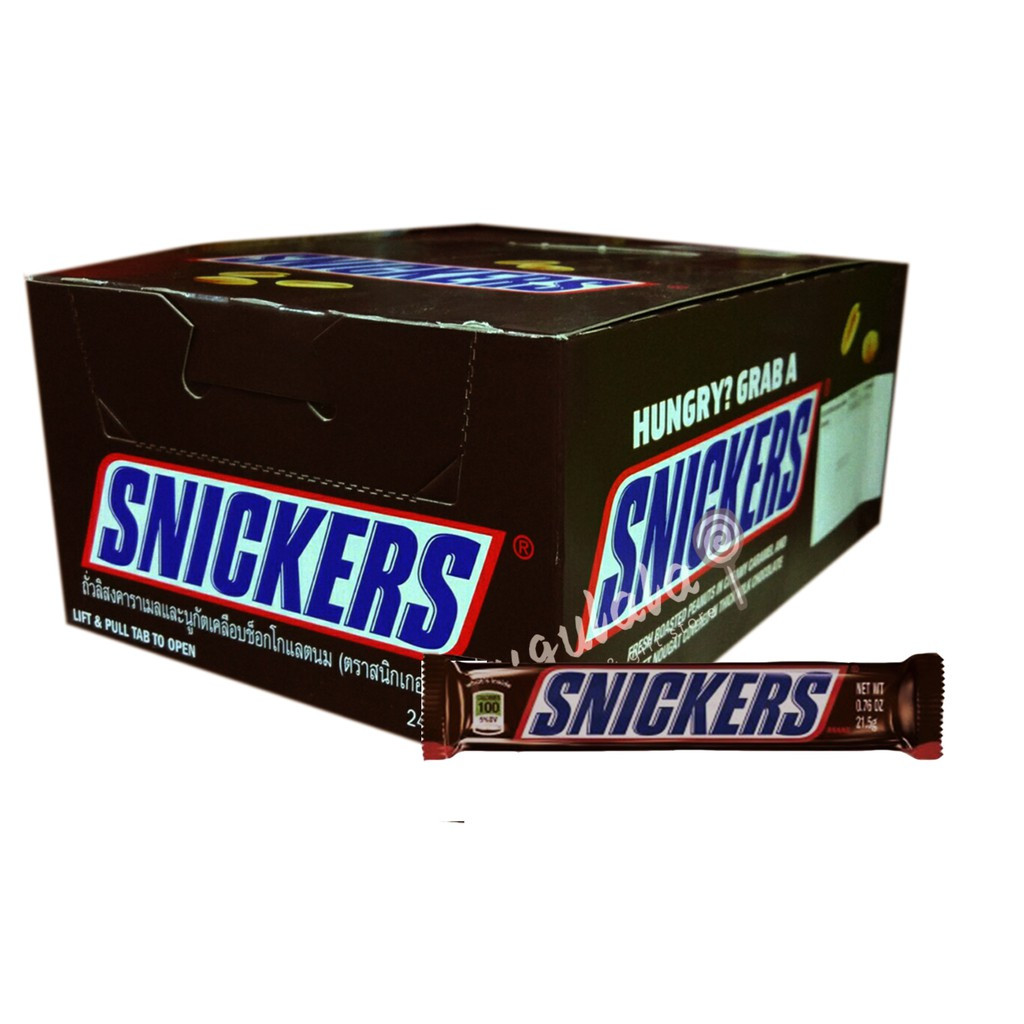 Snickers Bar 24'S X 21.5g