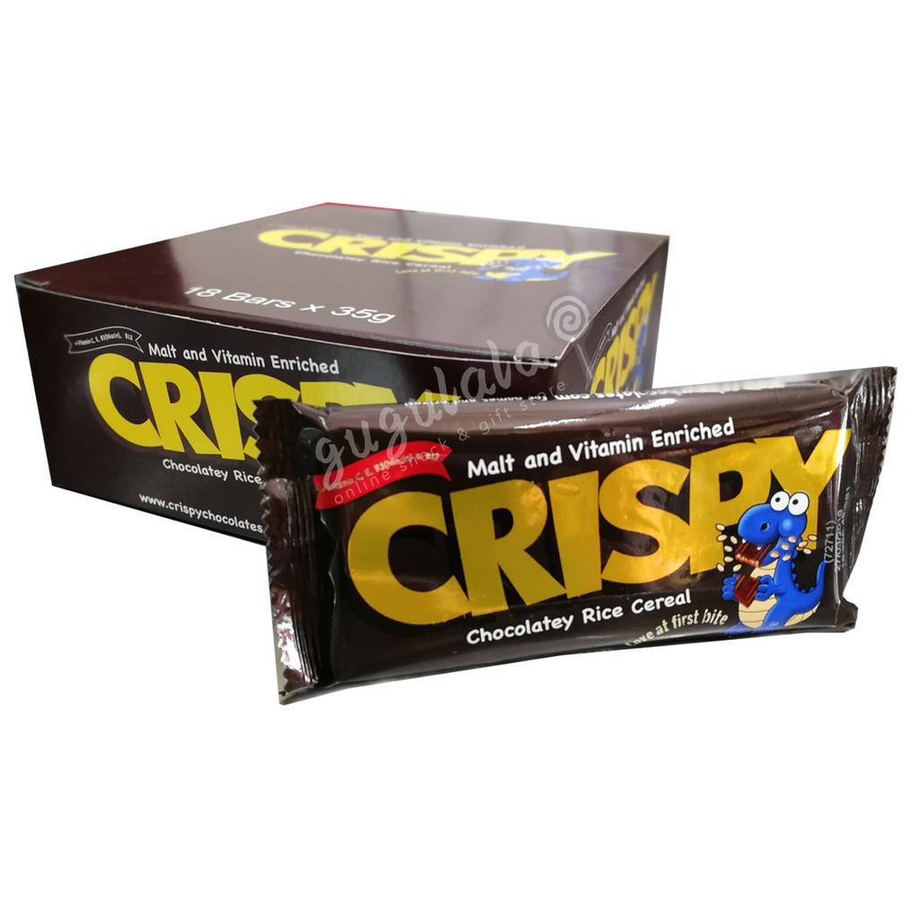 Crispy Chocolatey Rice Cereal 18'S X 35g