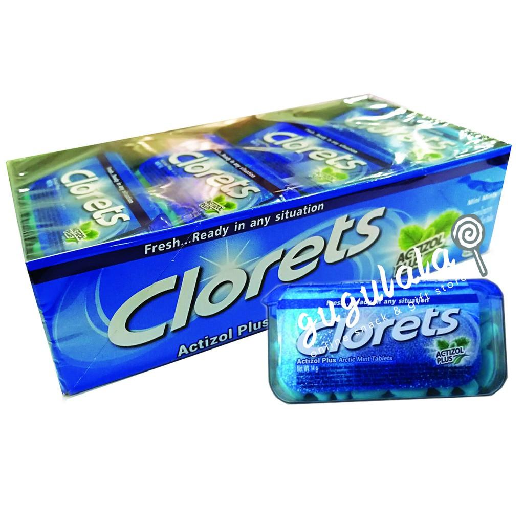 image of Clorets Arctic Mint Tablets 12'S X 14g 5.0
