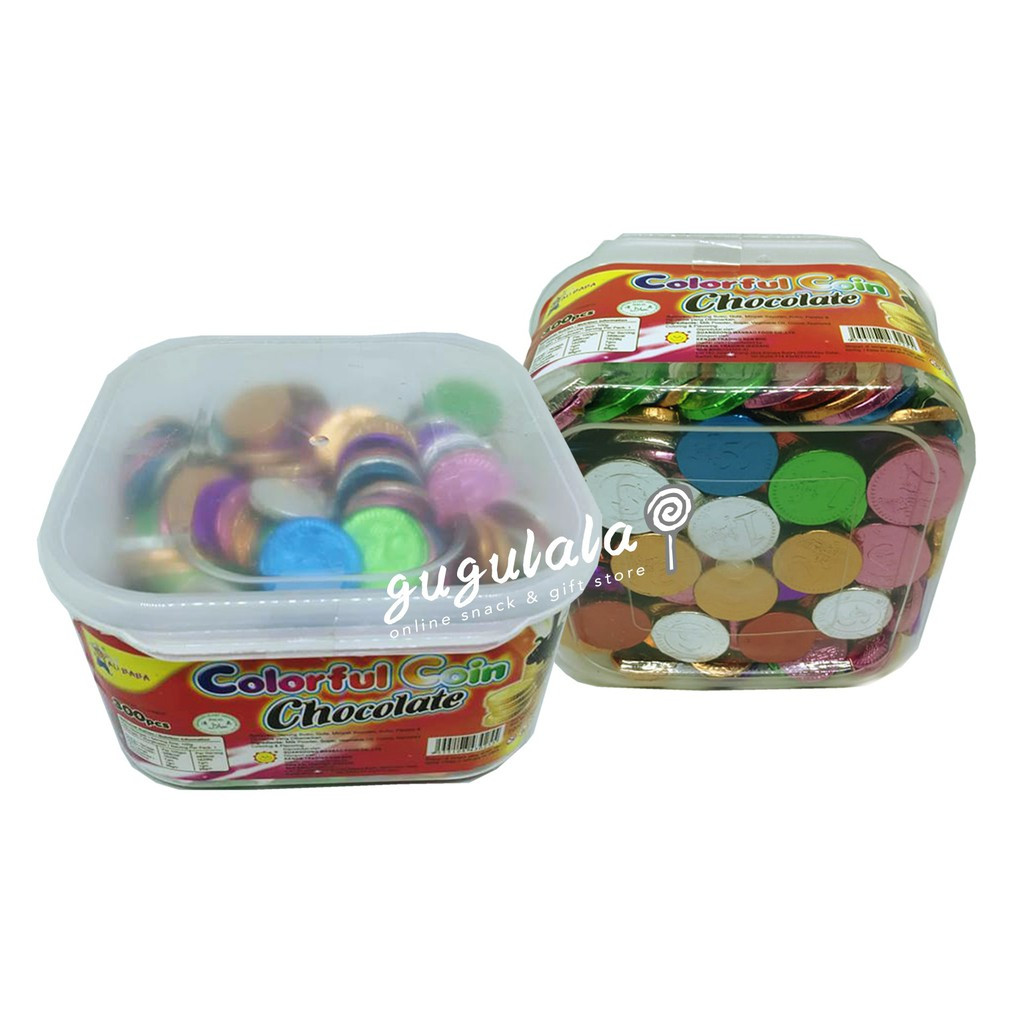 image of Colorful Coin Chocolate 200'S