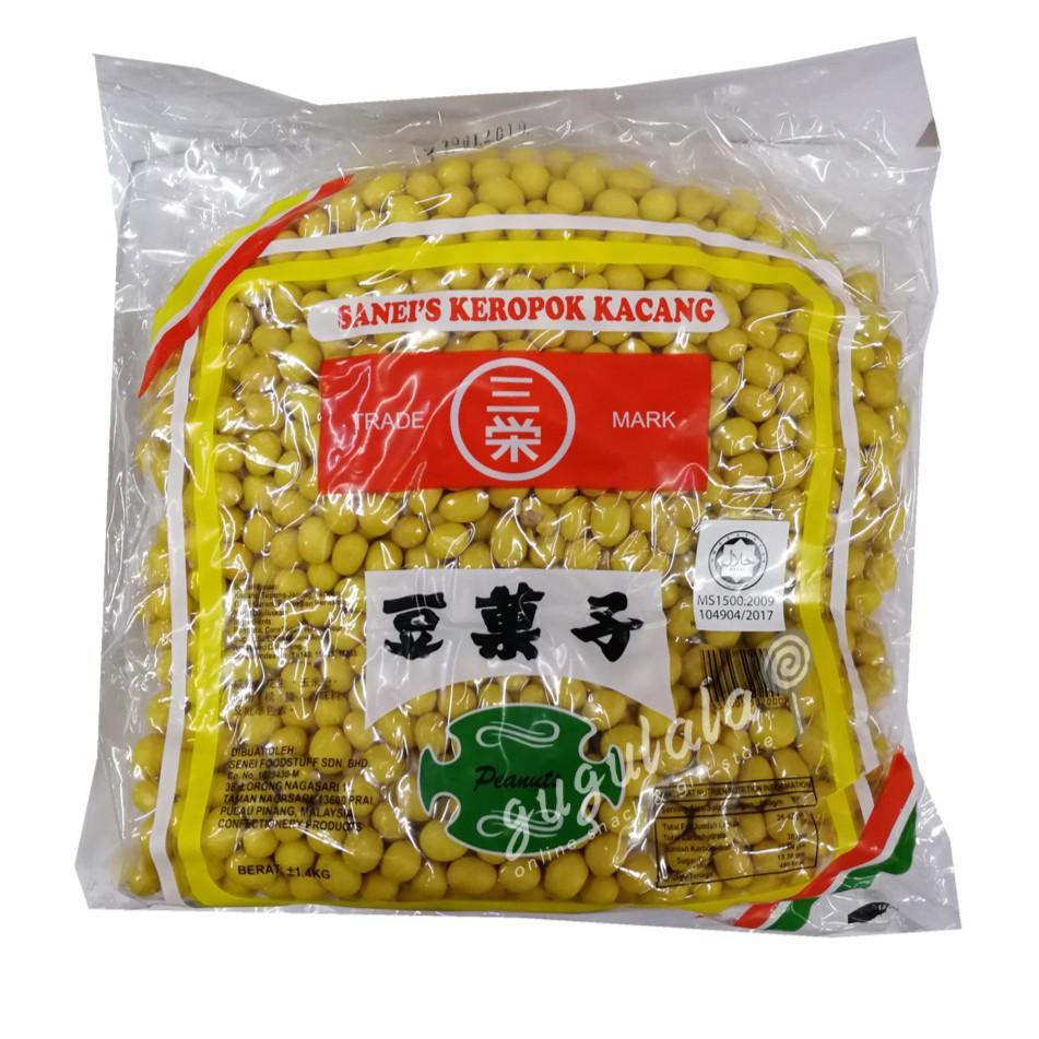 Sanei Keropok Kacang 1.4kg
