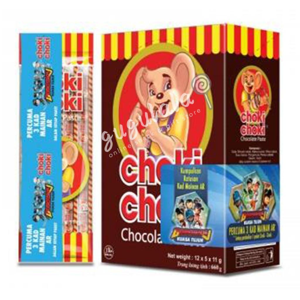 image of Choki Choki Chocolate 60'S X 11g