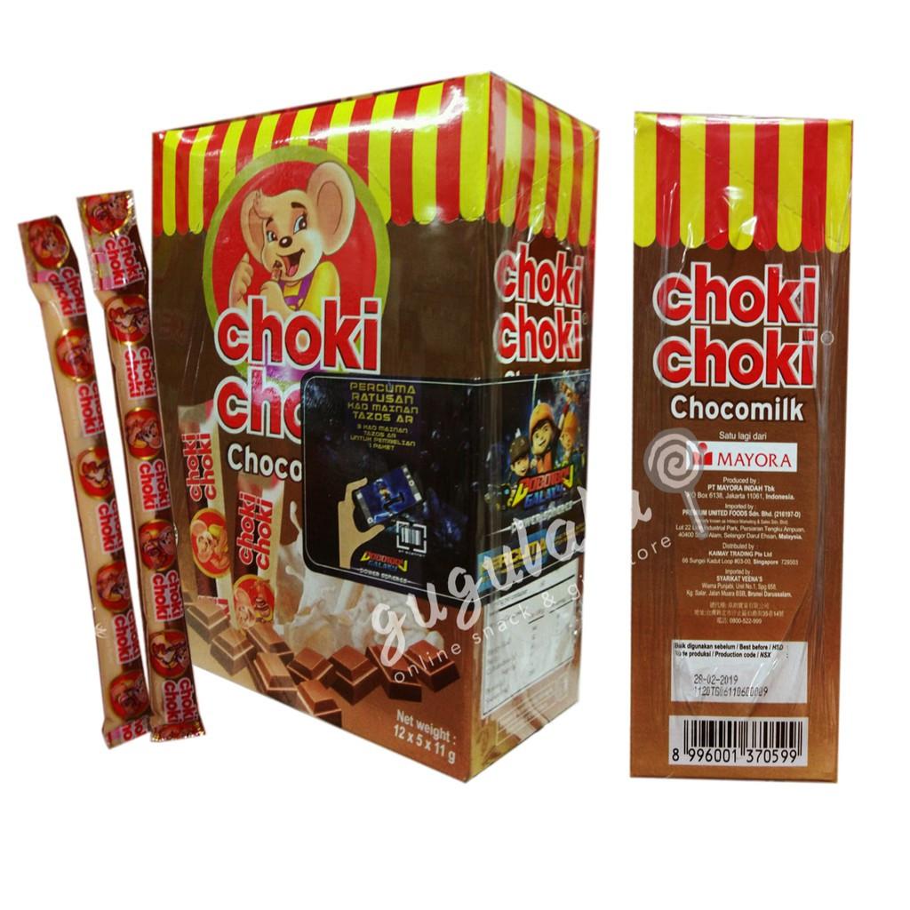 image of Choki Choki Chocomilk 60'S X 11g
