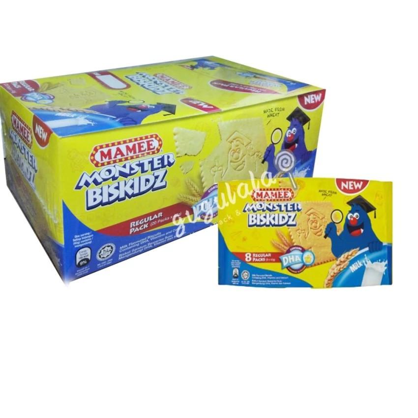 image of Mamee Monster Biskidz Milk 20'S X 42g