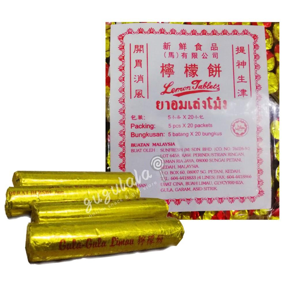 image of Lemon Tablets 100'S